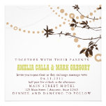 Rustic Vines Wedding Invitation