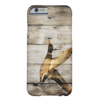rustic vintage barnwood country ducks hunter barely there iPhone 6 case