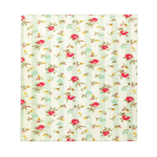 rustic vintage country floral girly chic trendy notepads