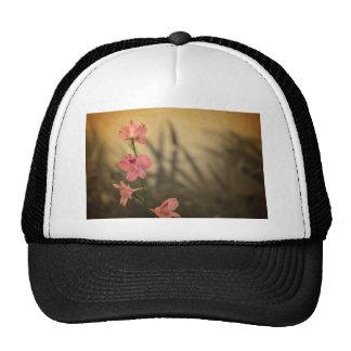 rustic vintage flower design trucker hat