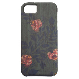 Rustic vintage flowers iPhone 5 cover