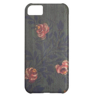 Rustic vintage flowers iPhone 5C cover