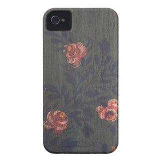 Rustic vintage flowers iPhone 4 Case-Mate case