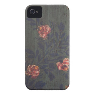 Rustic vintage flowers iPhone 4 cover