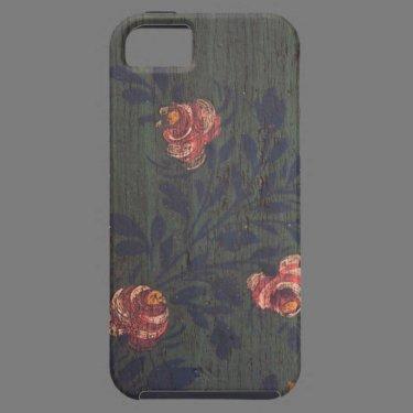 Rustic vintage flowers iPhone 5 cases