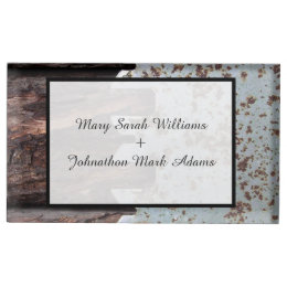 Vintage Wedding Table Card & Place Card Holders | Zazzle
