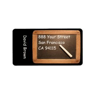 Rustic Vintage School Slate - Address Labels