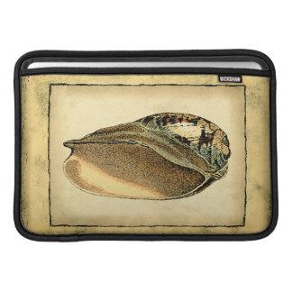 Rustic Vintage Seashell MacBook Air Sleeve
