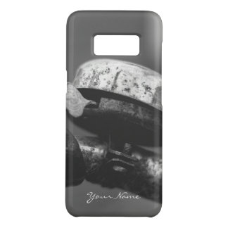 rustic vintage urbex bicycle bell black and white Case-Mate samsung galaxy s8 case