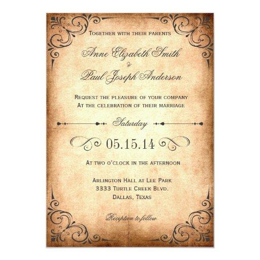 Vintage St S For Wedding Invitations 008 - Vintage St S For Wedding Invitations