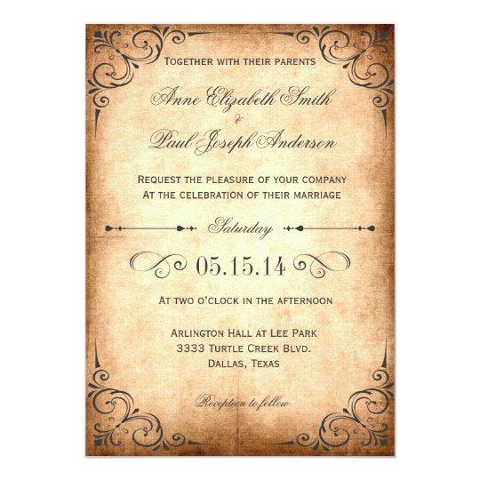 rustic vintage wedding invitations best selection of rustic vintage wedding invitations theruntime rustic vintage wedding invitations