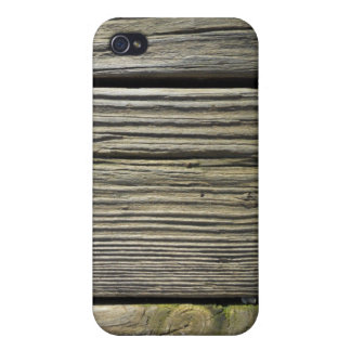 Rustic Weathered Wood Grain Board Photograph iPhone 4/4S Case