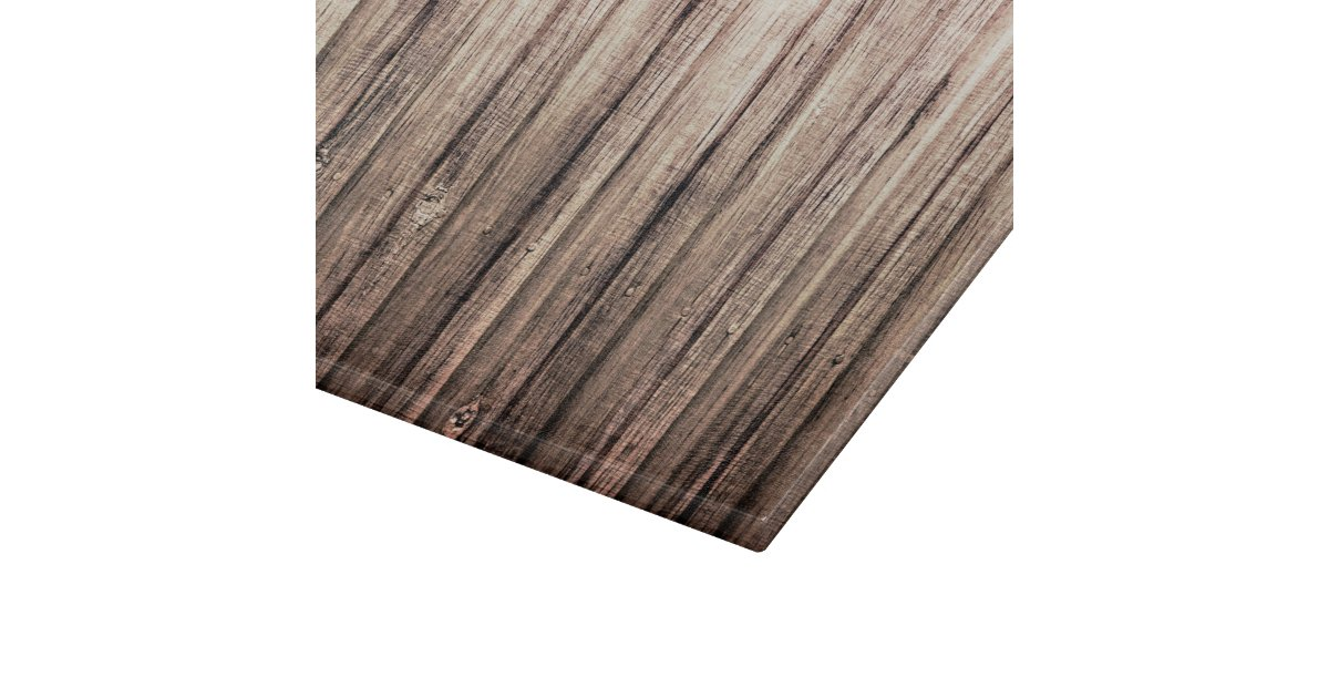 rustic weathered wood grain print cutting board zazzle