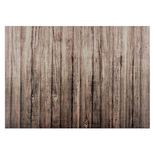 rustic weathered wood grain print cutting boards zazzle