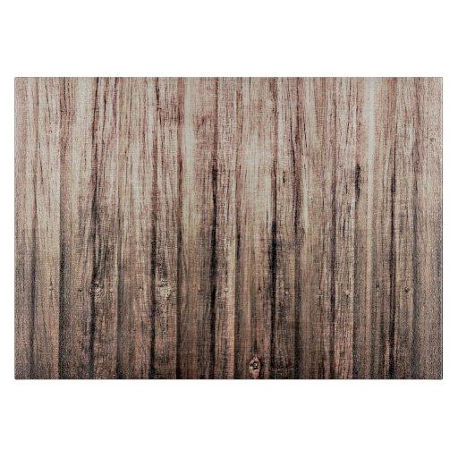 rustic weathered wood grain print cutting boards zazzle