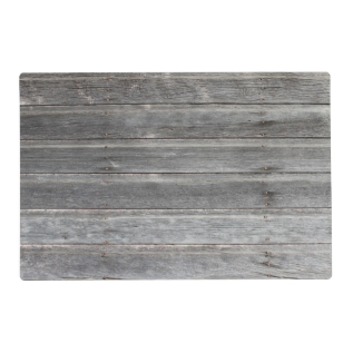 Rustic Weathered Wood Wall Placemat at Zazzle