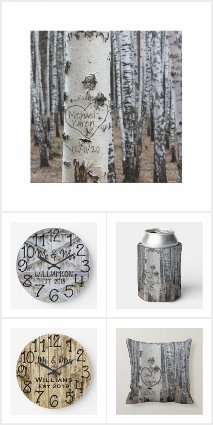 Rustic Wedding and Anniversary Gifts
