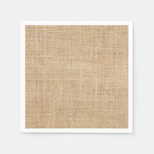 Rustic Wedding Burlap Trendy Country Weddings Paper Napkin