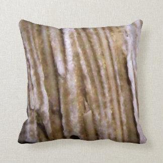 Rustic Western Petrified Wood Pillow