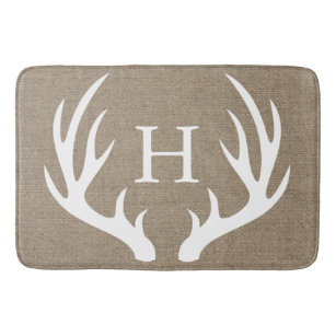 Deer Bath Mats Rugs Zazzle