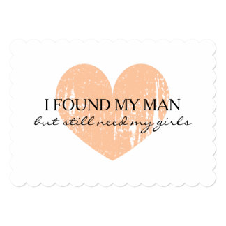 Rustic Will you be my bridesmaid request cards