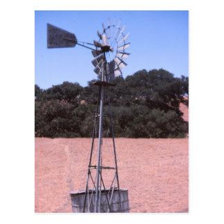 Rustic Windmill Postcard