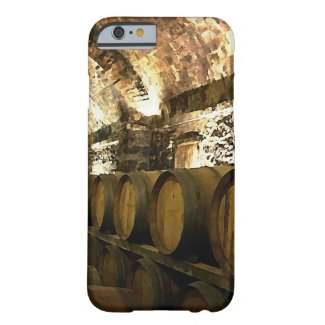 Rustic Wine Cellar Case-Mate Barely There iPhone 6/6s Case