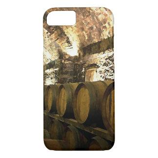 Rustic Wine Cellar iPhone 7 Case