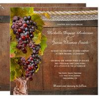 Wine Wedding Invitations U0026 Announcements | Zazzle