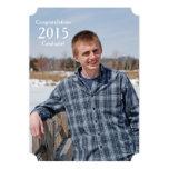 Rustic Wood 2015 Graduate Photo Announcement