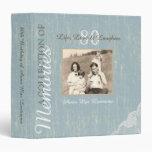 Rustic Wood and Lace Memory Album 3 Ring Binder