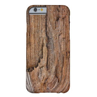 Rustic wood barely there iPhone 6 case