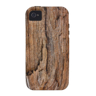 Rustic wood iPhone 4 case