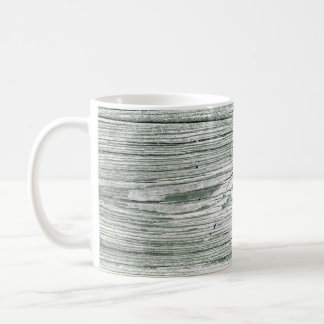 Rustic Wood Coffee Mug