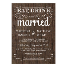 Country Wedding Invitations Country Wedding Invitations