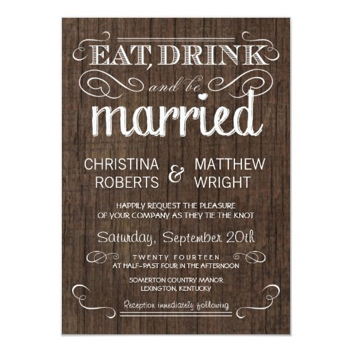 Country Rustic Wedding Invitations for your inspiration to make invitation template look beautiful