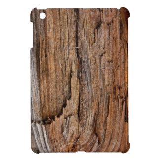 Rustic wood cover for the iPad mini