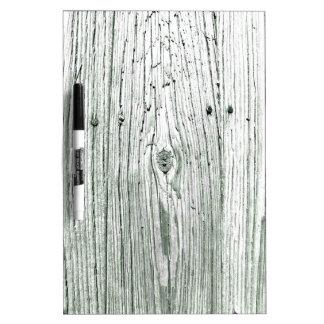 Rustic Wood Dry Erase Whiteboard