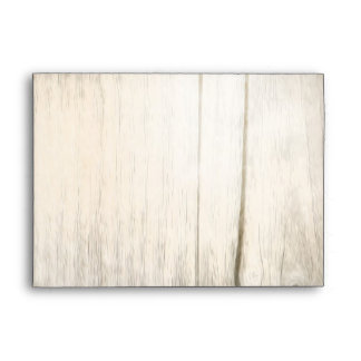 rustic wood envelopes