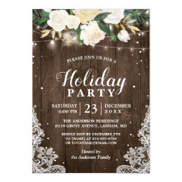 Corporate Holiday Party Invitations Zazzle