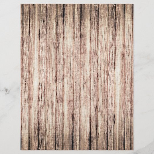 Rustic Wood Grain Background Scrapbook Paper Zazzle