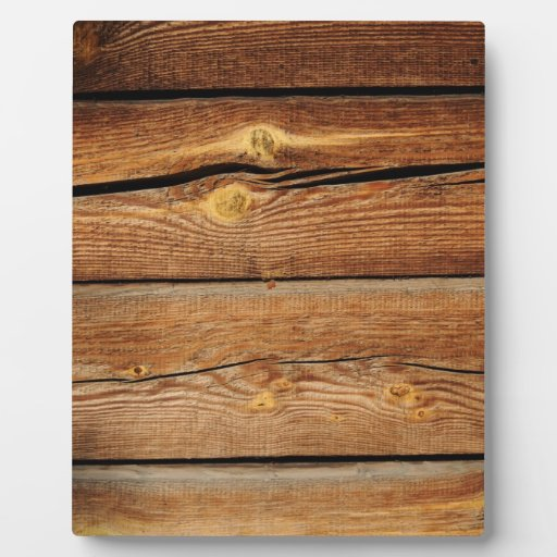 rustic wood grain boards design country gifts plaque zazzle