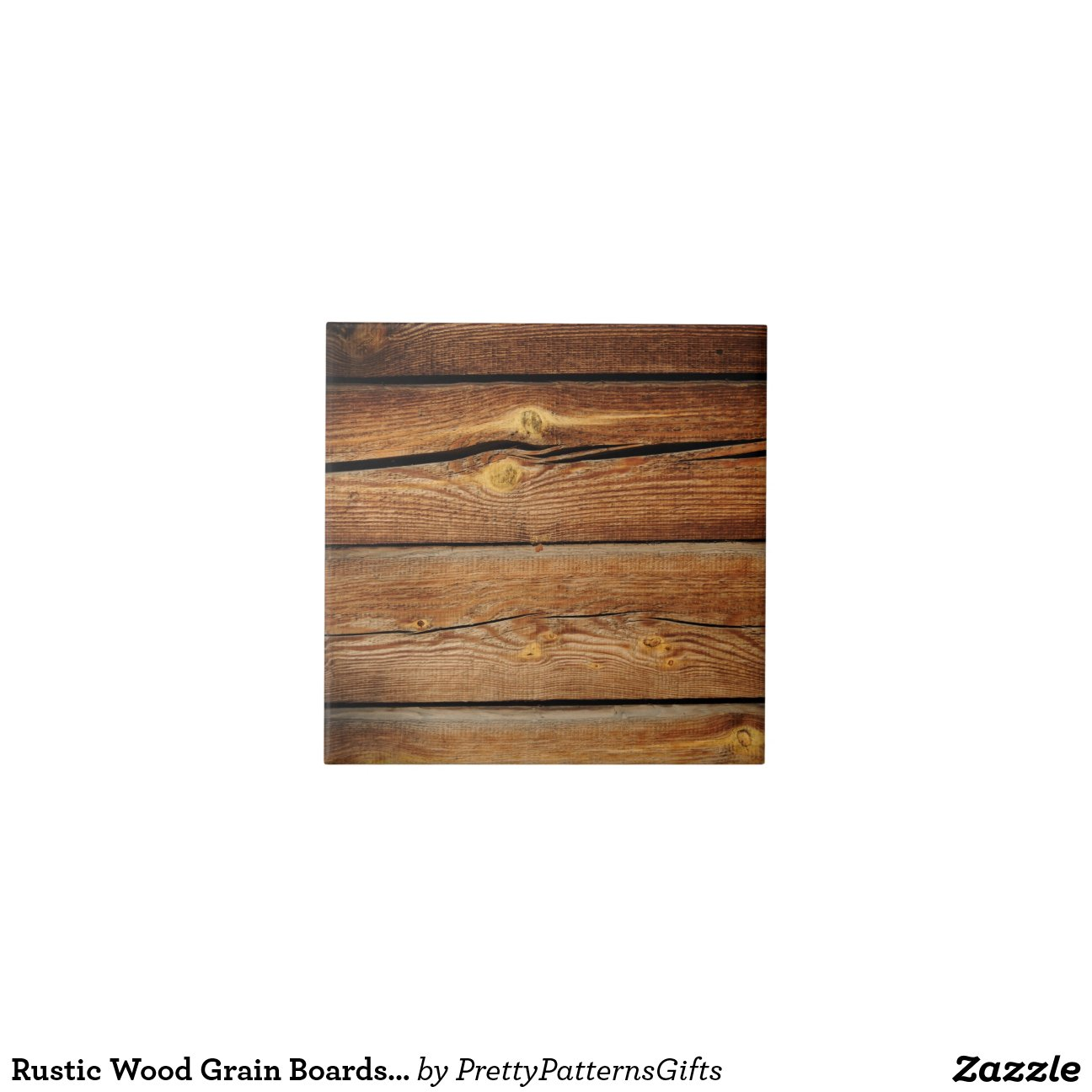 rustic wood grain boards design country gifts ceramic tile