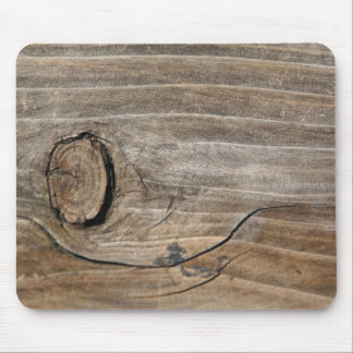 Rustic Wood Grain - Knotty Mouse Pad