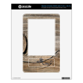 Rustic Wood Grain - Knotty Skin For The NOOK