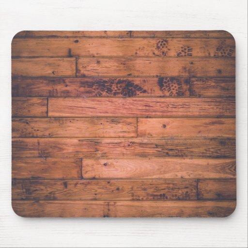 rustic wood grain mouse pad zazzle