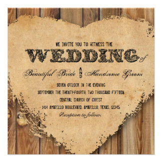 30 Western Wedding Square Invitations Amp Announcement Cards