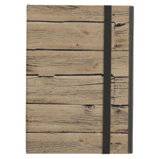 Rustic Wood iPad Cover