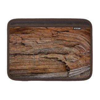 Rustic wood sleeves for MacBook air