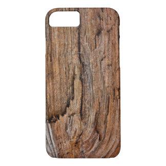 Rustic wood iPhone 8/7 case
